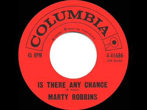 1960 HITS ARCHIVE: Is There Any Chance - Marty Robbins