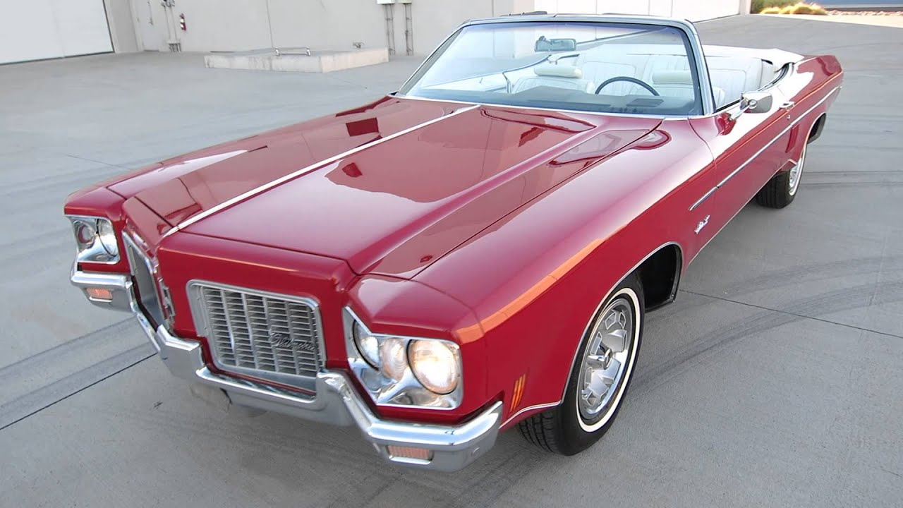 1971 Oldsmobile Delta 88 Royale Convertible 455 s Matching RARE