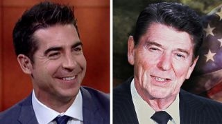 Jesse Watters channels Reagan at president's ranch