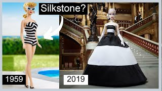 Silkstone? Barbie Unboxing  75th Anniversary  Black and White Forever