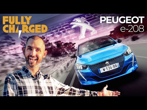 Peugeot e-208 Test Drive | Fully Charged