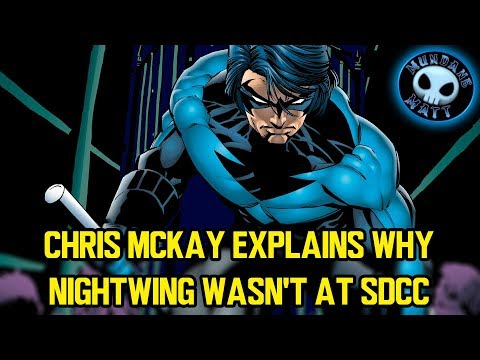 Chris McKay explains why NIGHTWING wasn't at SDCC