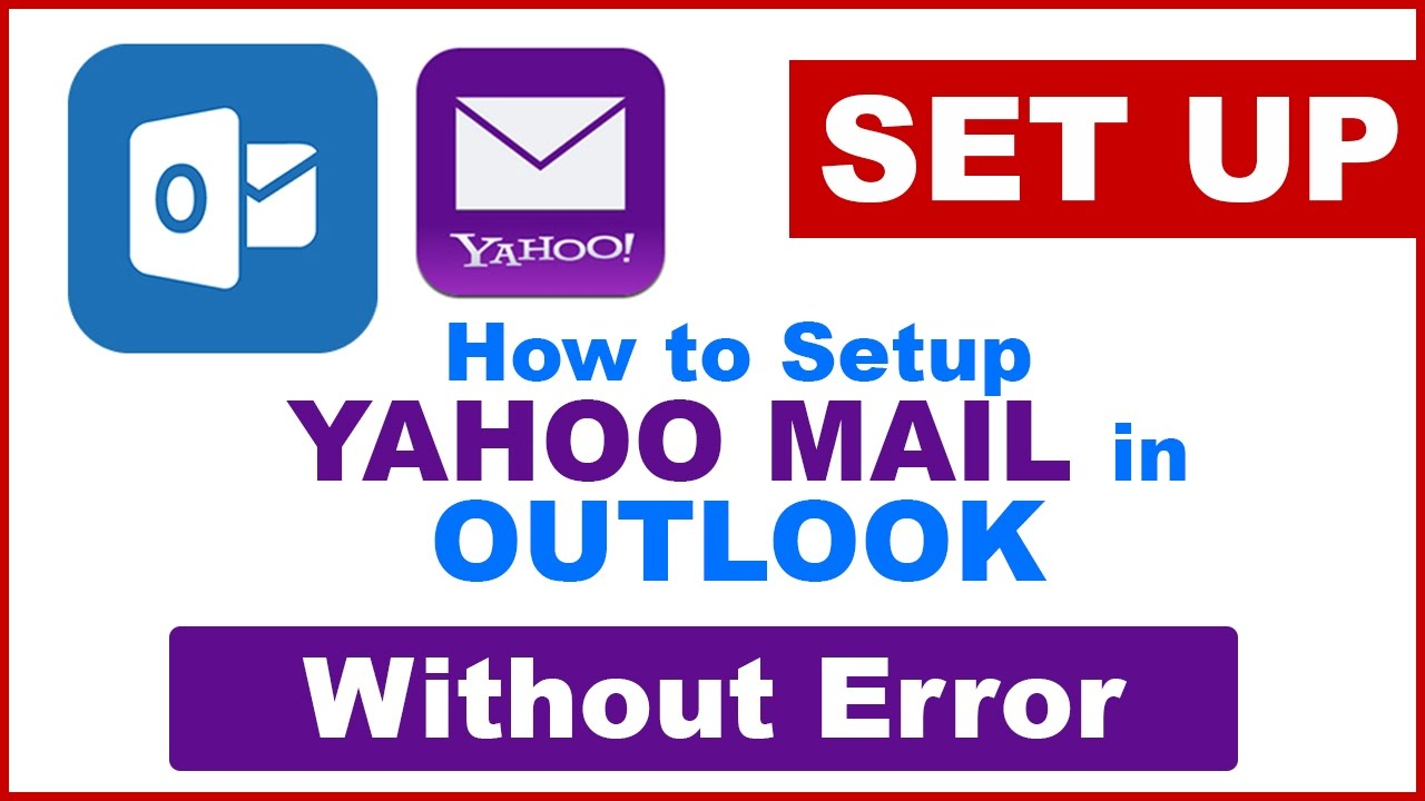 How to sync microsoft outlook with yahoo mail
