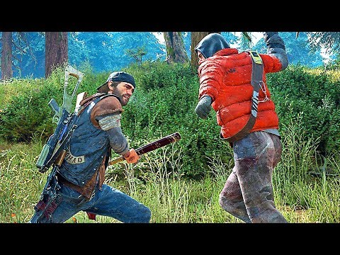 DAYS GONE Gameplay NEW 2018 PS4