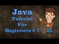Java Programming Tutorial 1- Download Installing Java JDK and Eclipse IDE