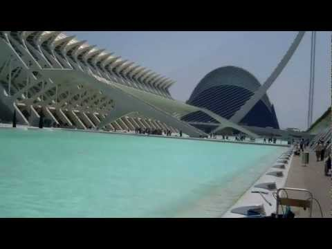Valencia Spain - Museum of Science and Oceanographic
