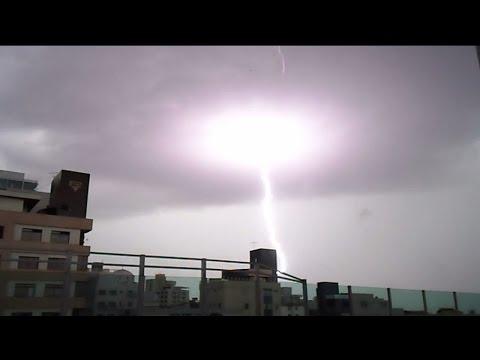 Nightmare Thunderstorm in Belo horizonte!