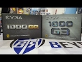BtR - Unboxing Comparison - EVGA Power Supply 1000 GQ vs 1000 G3