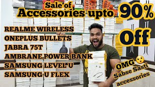 Sale Of Accessories Upto 90% Off. | Realme, Jabra, Oneplus, MI, Sony, Ambrane || JJ Communication