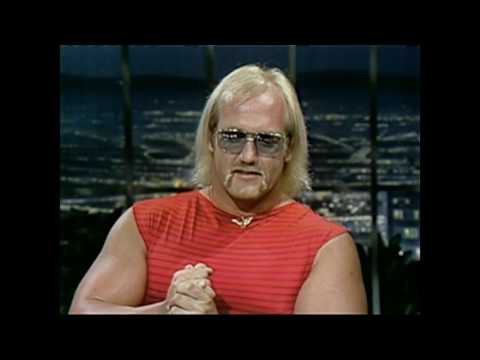 Hulk Hogan on Johnny Carson 1982