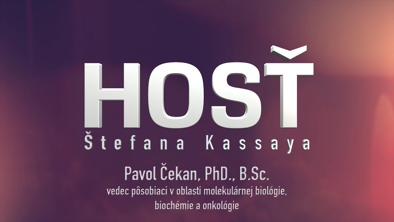 Hosť Štefana Kassaya: Pavol Čekan