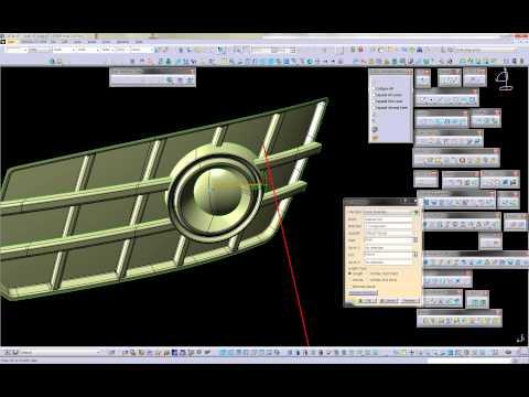 Catia History movie -Audi A7 Fog Lamp