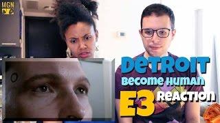 Detroit Become Human E3 2016 Trailer Reaction