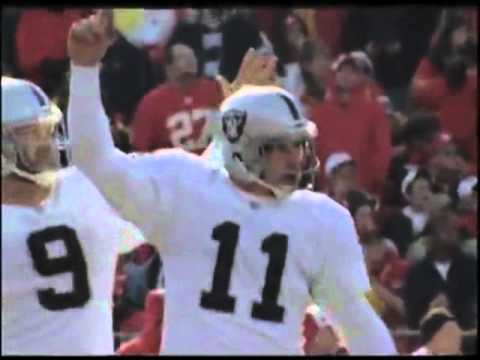 Sebastian Janikowski Greatest Kicker EVER