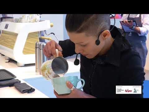 Sigep 2018 - CILA Campionato italiano Latte Art  -Manuela Fensore