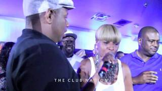 Mary J Blige sings happy birthday to her husband...
