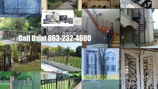 Custom Metal Steel Wrought Iron Work Designs Service In Orlando Fl