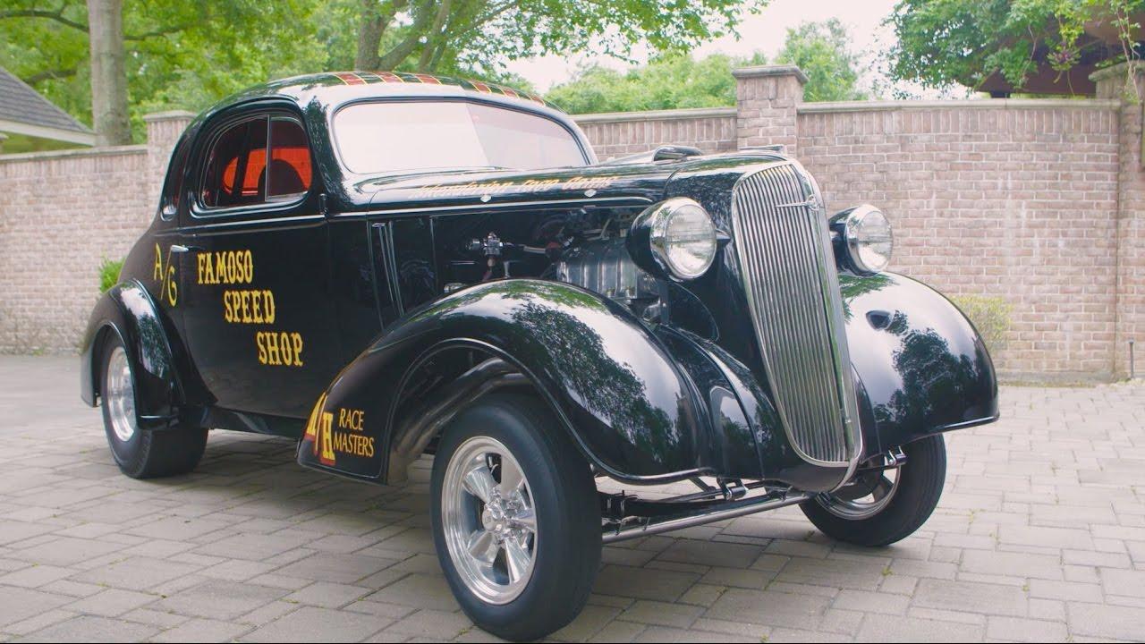 Lot S98 // 1936 Chevrolet Custom Gasser // Mecum Dallas 2016