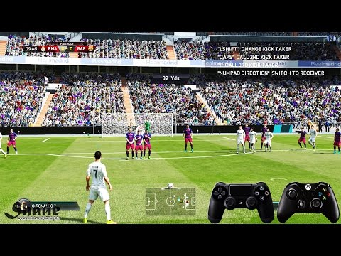 FIFA 16 Free Kick Tutorial | Xbox & Playstation | HD 1080p