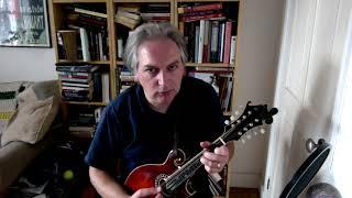 My Darling Asleep (jig) on mandolin