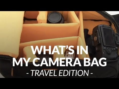 What's in my camera bag - travel edition // Chris Winter