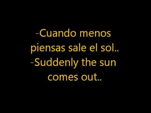 Shakira  Sale el sol  LYRICS English + Spanish