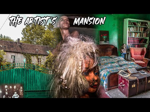 MOST INCREDIBLE abandoned French Artist's MANSION | Thousands of paintings were left!
