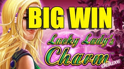 Online slots BIG WIN 10 euro bet - Lucky Ladys Charm HUGE WIN