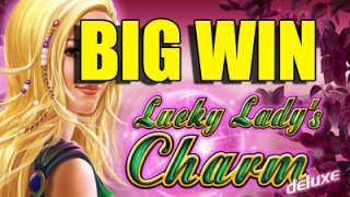 Online slots BIG WIN 10 euro bet - Lucky Ladys Charm HUGE WIN