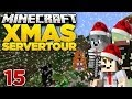 RUSH PvP! - Minecraft X-MAS Server Tour #15 | ungespielt