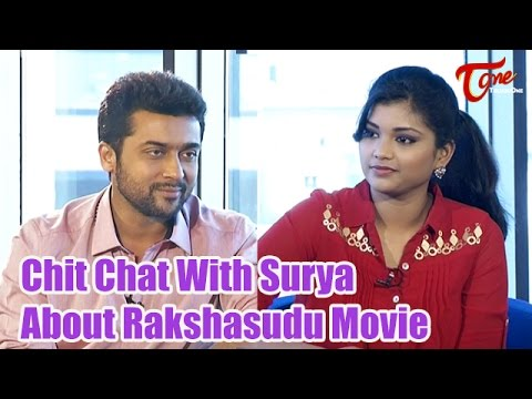 Exclusive Chit Chat With Hero Suriya   About Rakshasudu Movie