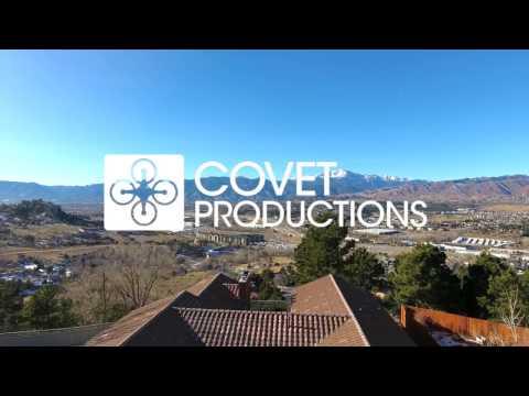 Colorado Springs  - Aerial Drone Video