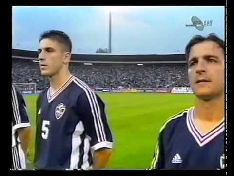 Prijateljska utakmica 29.5.1998. Jugoslavija - Nigerija 3:0