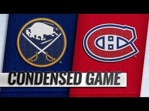 11/08/18 Condensed Game: Sabres @ Canadeins