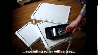 How To Shabby Chic Furniture #2 Rich 2 Colour Texture