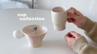 내가 좋아하는 컵들과 접시들 (승아네 컵렉션,홈카페하기…