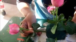 Repeat youtube video การจัดดอกไม้แบบครึ่งทรงกลม