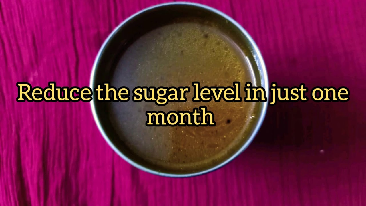 Reduce sugar level in just one month (diabetes soup) / will even reduce body weight