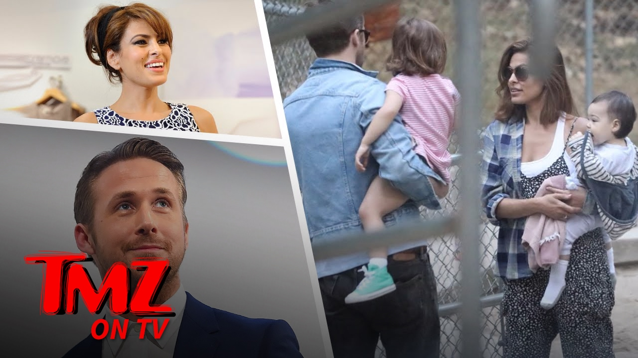 We Got Ryan Gosling Out With Eva Mendes and The Kids ...