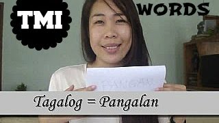 Getting to know me + Bisaya words Thumbnail