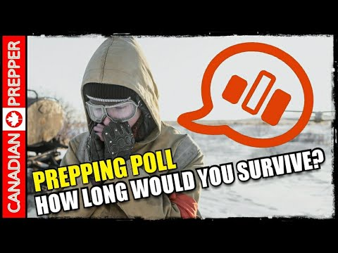 Prepping Poll: How Long Could YOU Survive?