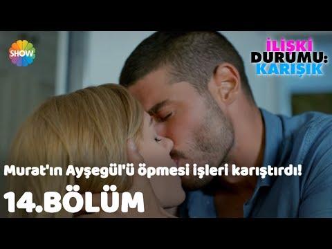 Download Murat'ın Ayşegül'ü öpmesi işleri karıştırdı! | İlişki Durumu: Karışık 14.Bölüm