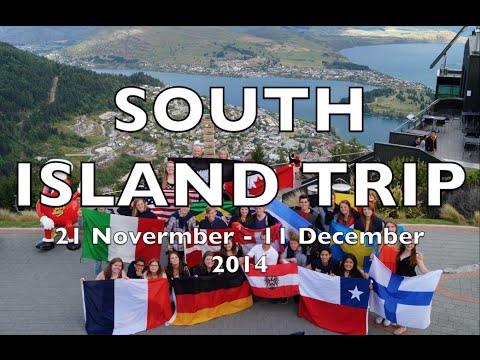 SOUTH ISLAND TRIP 2014 - rotary youth exchange New Zealand
