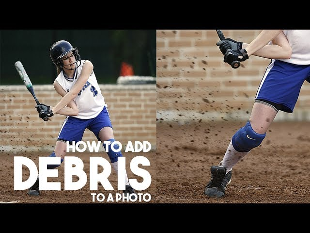 How To Create And Add Debris In Photoshop