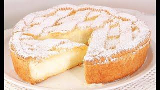 Он Просто Тает во Рту Райский Торт Пирог с Молочным Кремом Torta Paradiso