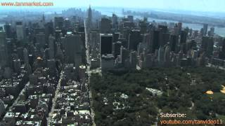 Central Park and NYC Aerial - youtube.com/tanvideo11