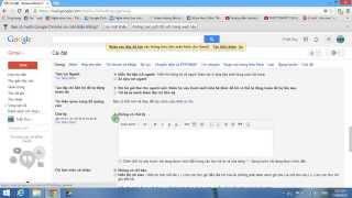 [Thủ Thuật] Hướng dẫn tạo chữ ký Online cho Gmail