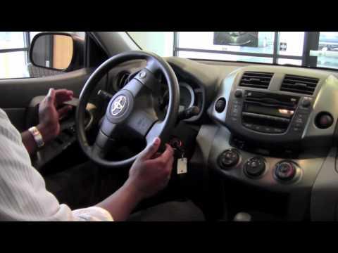 2011   Toyota   RAV4   Unlock The Steering Wheel   How To by Toyota City Minneapolis MN