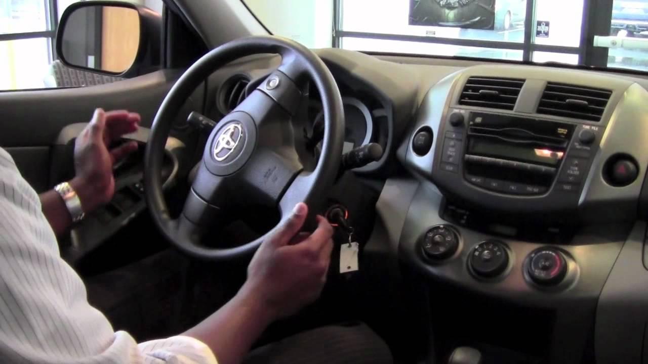 2011 Toyota Rav4 Unlock The Steering Wheel How To By City Minneapolis Mn Youtube