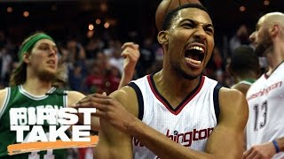 Stephen A. Smith Picks The Wizards To Beat The Celtics | First Take | May 10, 2017